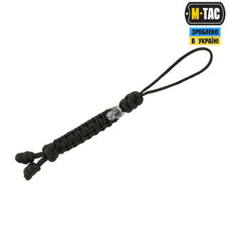 M-Tac темляк Loopy Snake Skull Black