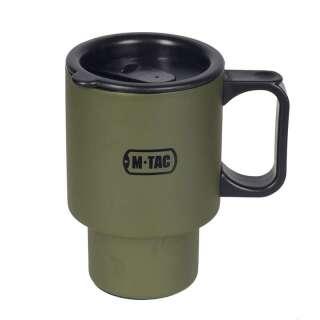 M-Tac термокружка 450 мл. з кришкою олива