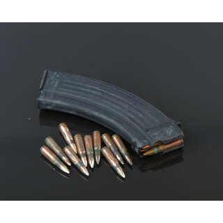 Магазин АК 7,62 на 30 патронов метал. черный