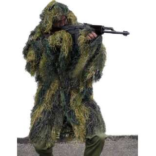 Маскировочная куртка Mil-Tec Ghille Parka Anti Fire (Woodland), Sturm Mil-tec Германия