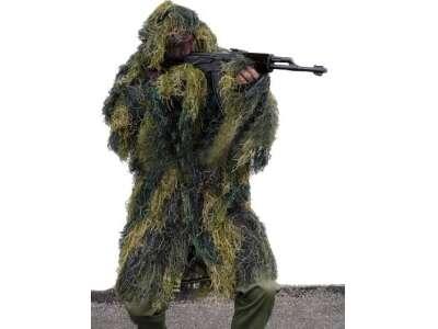 Маскувальна куртка Mil-Tec Ghille Parka Anti Fire (Woodland), Mil-tec