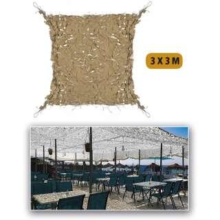Маскировочная сетка Пустыня ′SHADE SAIL′ 3х3м, Sturm Mil-Tec®