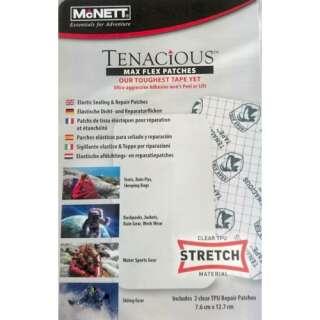 McNett набор клейких заплаток для ремонта одежды и снаряжения Tenachcious Tape MAX Flex