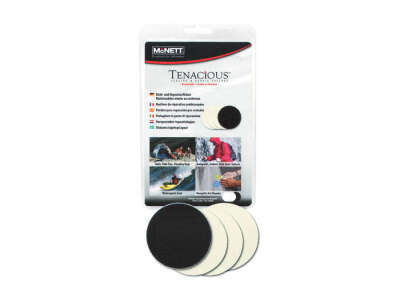 McNett набір клейких латок для ремонту одягу та спорядження Tenachcious