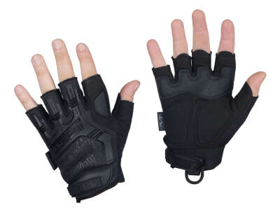 Mechanix M-Pact Fingerless Gloves Black