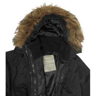 Меховая оторочка для влагозащитной куртки, [019] Black, Sturm Mil-Tec® Reenactment