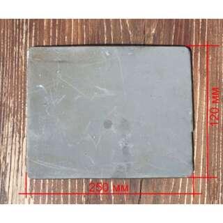 Металлокерамическая бронепластина (боковая) для Бронежилета FOPC –4 класс защиты (Стандарт Украины),, [1312] Steel, ТЕМП-3000