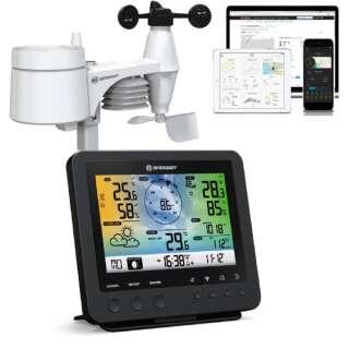 Метеостанция Bresser Weather Center Wi-Fi 5-in-1 Profi Sensor Black, Bresser (Germany)