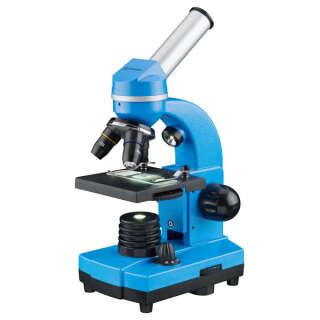 Мікроскоп Bresser Biolux SEL 40x-1600x Blue + смартфон-адаптер (8855600WXH000)