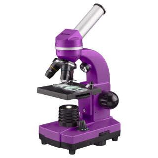 Микроскоп Bresser Biolux SEL 40x-1600x Purple (смартфон-адаптер), Bresser (Germany)