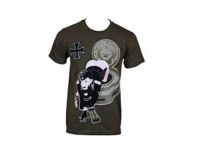 Милитарист футболка Tiger Temptress олива все разм.