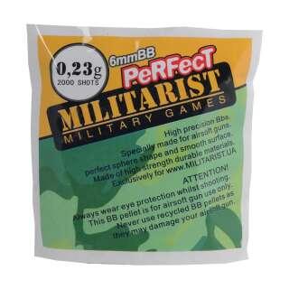 Милитарист шары Perfect 0.23 (2000 шт.)
