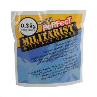 Милитарист шары Perfect 0.25 (2000 шт.)