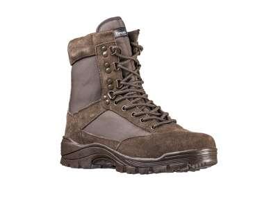 Ботинки Mil-Tec тактические на молнии (коричневые) – (12822109), Sturm Mil-tec Германия