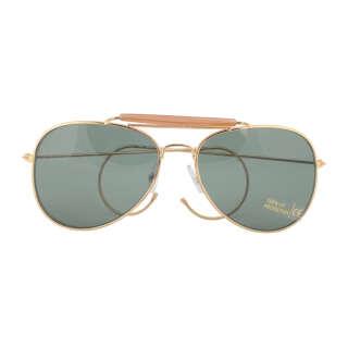 Милтек очки солнцезащитные Air Force зеленые