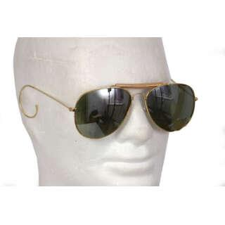 Милтек очки солнцезащитные Air Force зеркальные