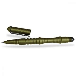 Милтек ручка тактическая 16см олива