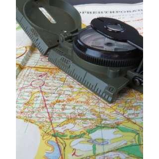 Милтек США компас Ranger олива
