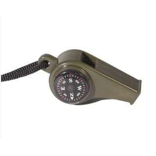Милтек свисток с компасом и термометром