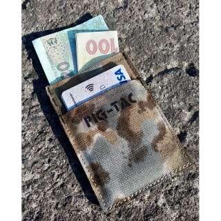 Міні гаманець MS-MW (Mil-Spec Mini Wallet), [1170] Covert Arid Camo Pat. D 697,319, P1G-Tac