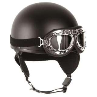Мотошлем с очками (черный) (Black), Sturm Mil-Tec®