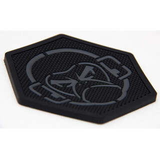 MSM Logo Coaster Black