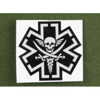 MSM TacMed Pirate Decal SWAT