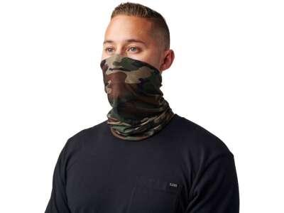 Мультифункциональный головной убор 5.11 Halo Neck Gaiter, Woodland, 5.11 ®®