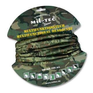 Мультифункціональний головний убір Mil-Tec (BUFF) (Flectarn), Mil-tec