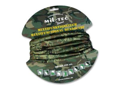 Мультифункциональный головной убор Buff (Бафф), Немецкий камуфляж, Sturm Mil-Tec®