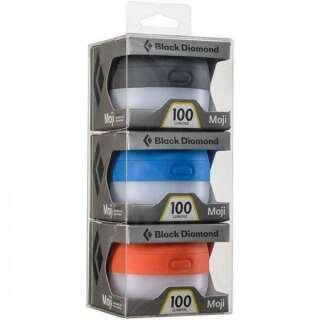 Набор фонарей Black Diamond - Moji 3 Pack Blue/Orange/Graphite, 100 люмен (BD 620714.PRIM)