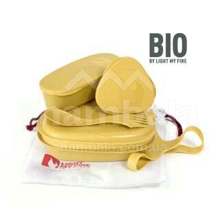 Набір посуду Light My Fire LunchKit BIO 6 pcs, Musty Yellow (LMF 2413710210)