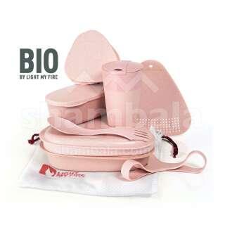 Набір посуду Light My Fire MealKit BIO 8 pcs, Dusty Pink (LMF 2413610110)