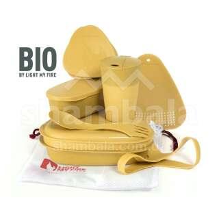 Набір посуду Light My Fire MealKit BIO 8 pcs, Musty Yellow (LMF 2413610210)