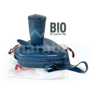 Набір посуду Light My Fire MessKit BIO 5 pcs, Hazy Blue (LMF 2412210910)