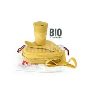 Набір посуду Light My Fire MessKit BIO 5 pcs, Musty Yellow (LMF 2412210210)