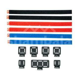 Набор стяжных ремней Tatonka Loop Strap & Patch Set, Assorted (TAT 3218.001)