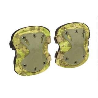 Налокітники тактичні LWE (Lightweight Elbow Pads), [1234] Камуфляж Жаба Польова, P1G-Tac