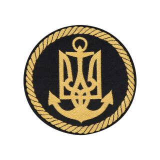 Нарукавный знак Військово-морські сили ЗСУ (жаккард)
