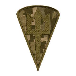 Нашивка Морська піхота (крапля) MM14