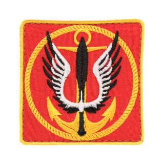 Нашивка Морська піхота червона