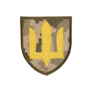 Нашивка Сухопутні війська ЗСУ MM14/жовтий