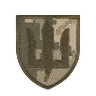 Нашивка Сухопутні війська ЗСУ MM14/олива