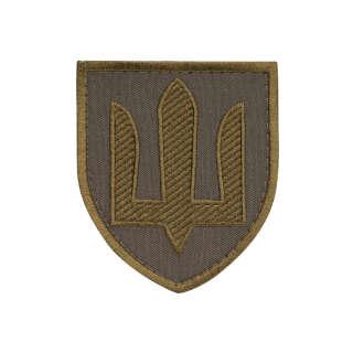 Нашивка Сухопутні війська ЗСУ олива/олива