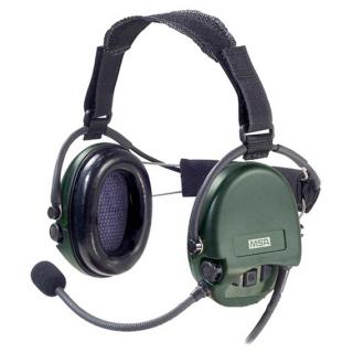 Навушники активні MSA Supreme Mil CC Green Nexus (з заднім держателем)