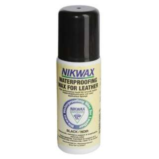 Nikwax Waterproofing Wax for Leather Black (губка) 125мл
