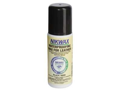 Nikwax Waterproofing Wax for Leather Black (губка) 125мл