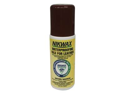 Nikwax Waterproofing Wax for Leather Brown (губка) 125мл