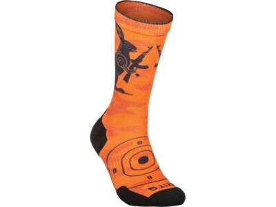Носки 5.11 SOCK & AWE CREW ANIMAL, [461] Orange, 44140