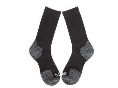 Шкарпетки тактичні 5.11 Slip Stream Crew Sock, [019] Black, 5.11 ®